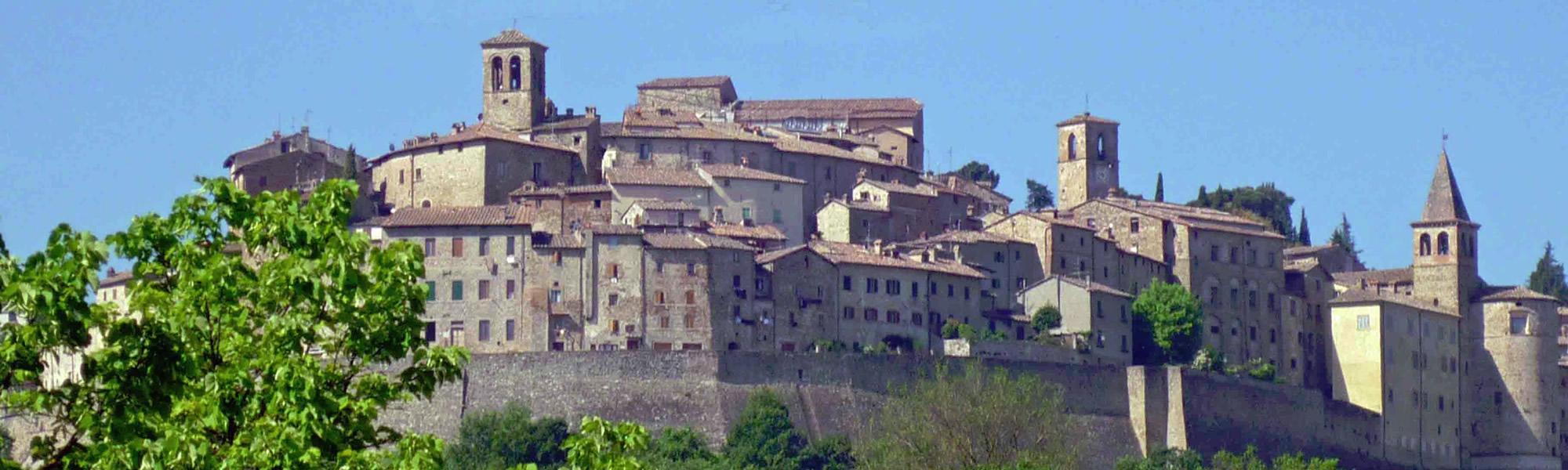 Anghiari in Toscana provincia Arezzo