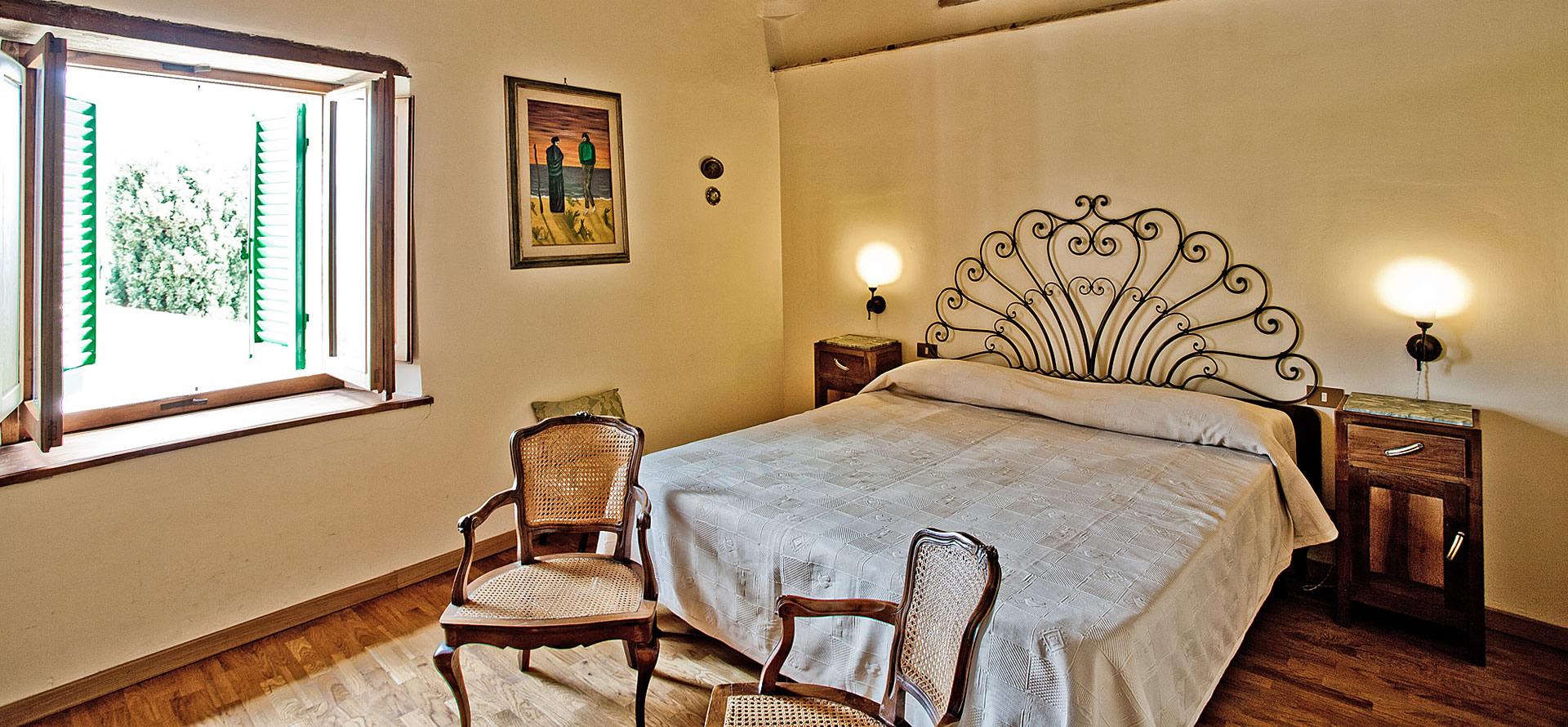 Camera matrimoniale appartamento Torre