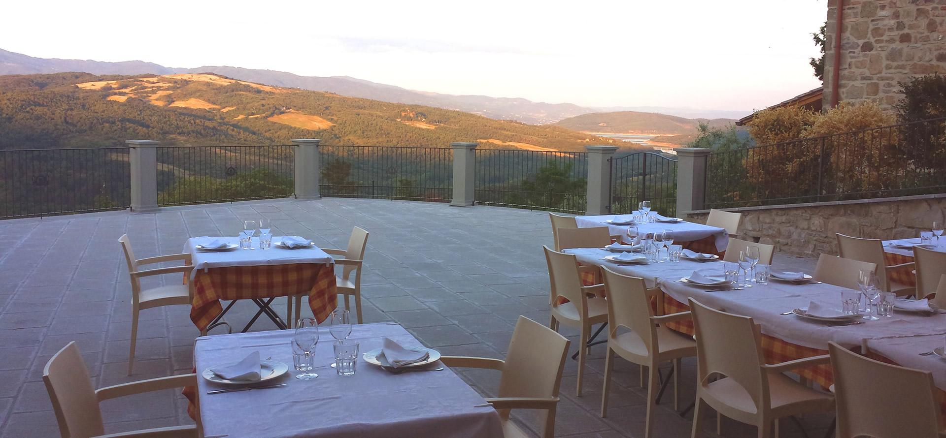 Terrazza Panoramica a Caprese Michelangelo