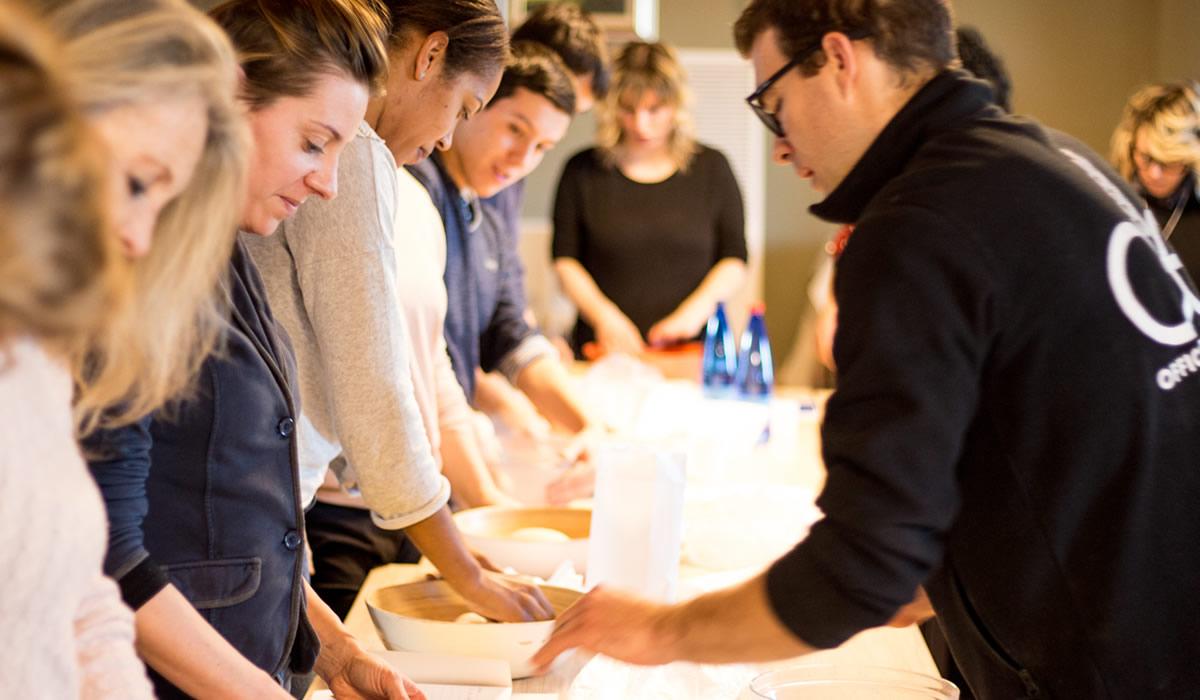 Corso di cucina pasta presso Terra di Michelangelo