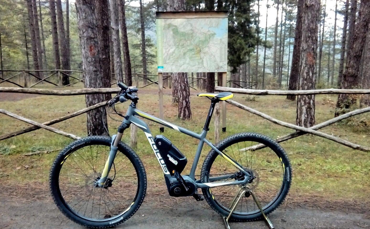 Escursioni in bici nella campagna Umbro-Toscana
