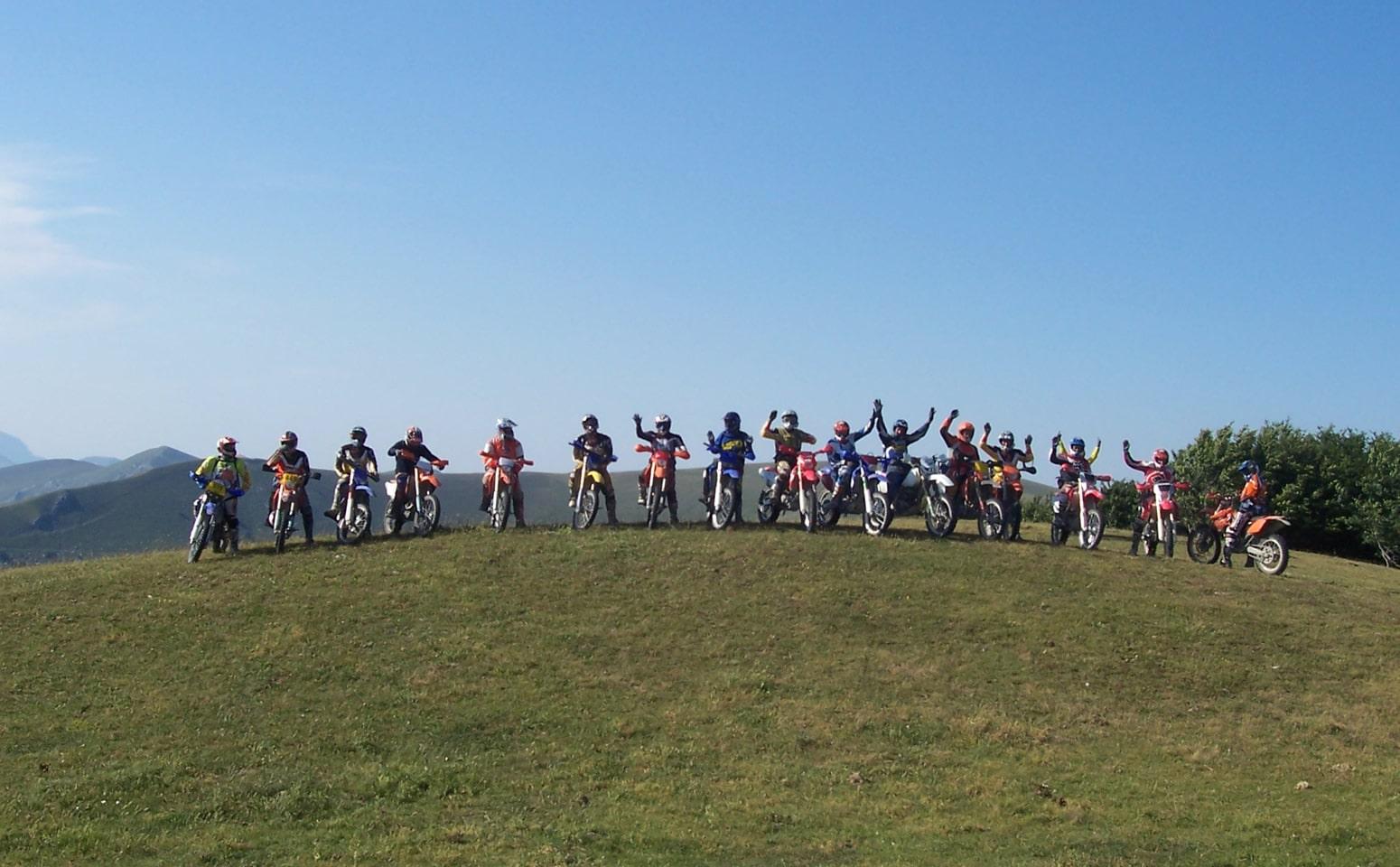 Escursioni in moto in Valtiberina con Pietro Bartolomei