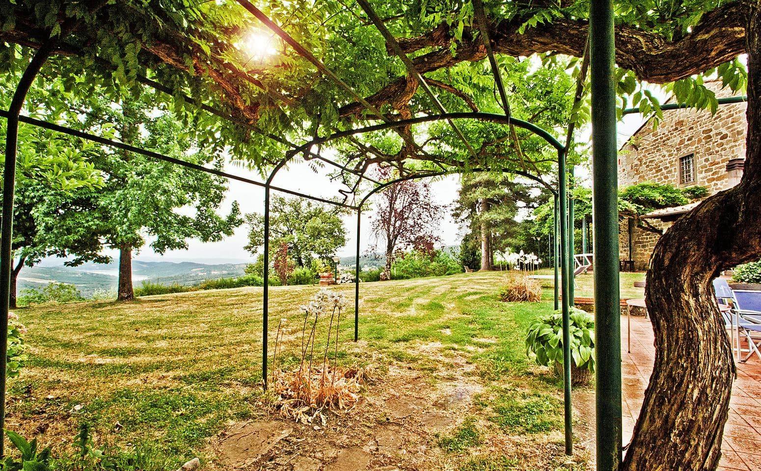 Giardino e Orto agriturismo in Toscana