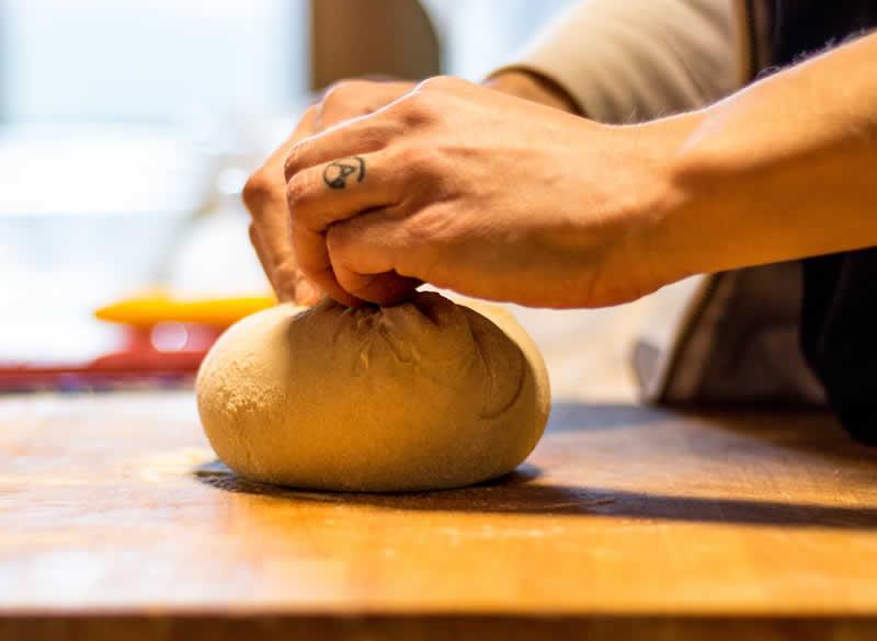 Preparazione impasto per pane