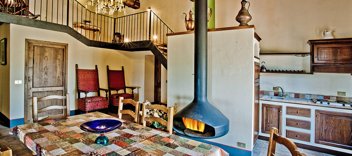 Appartamento vacanza Mirolago in Toscana