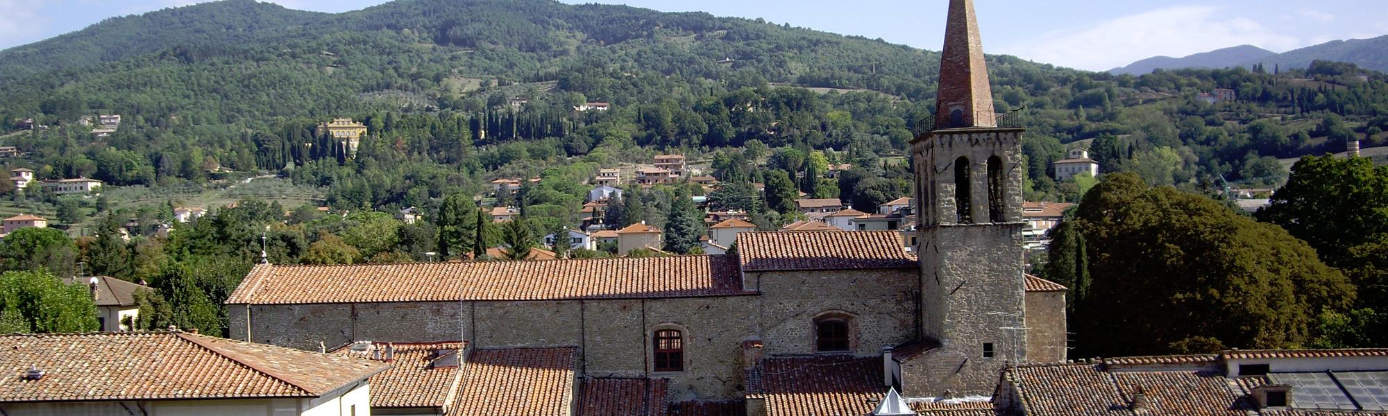 Sansepolcro in Toscana città natale di Piero della Francesca e sede dei Balestrieri