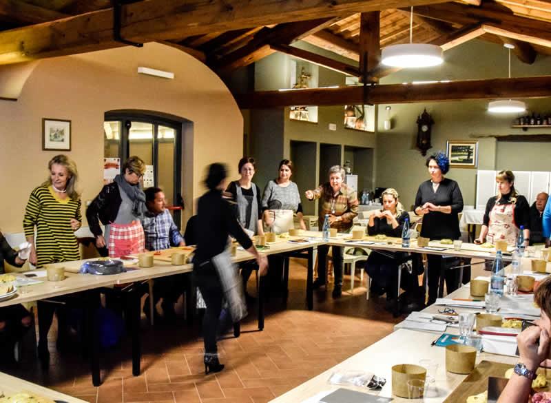 Scuola di cucina presso Agriturismo Terra di Michelangelo