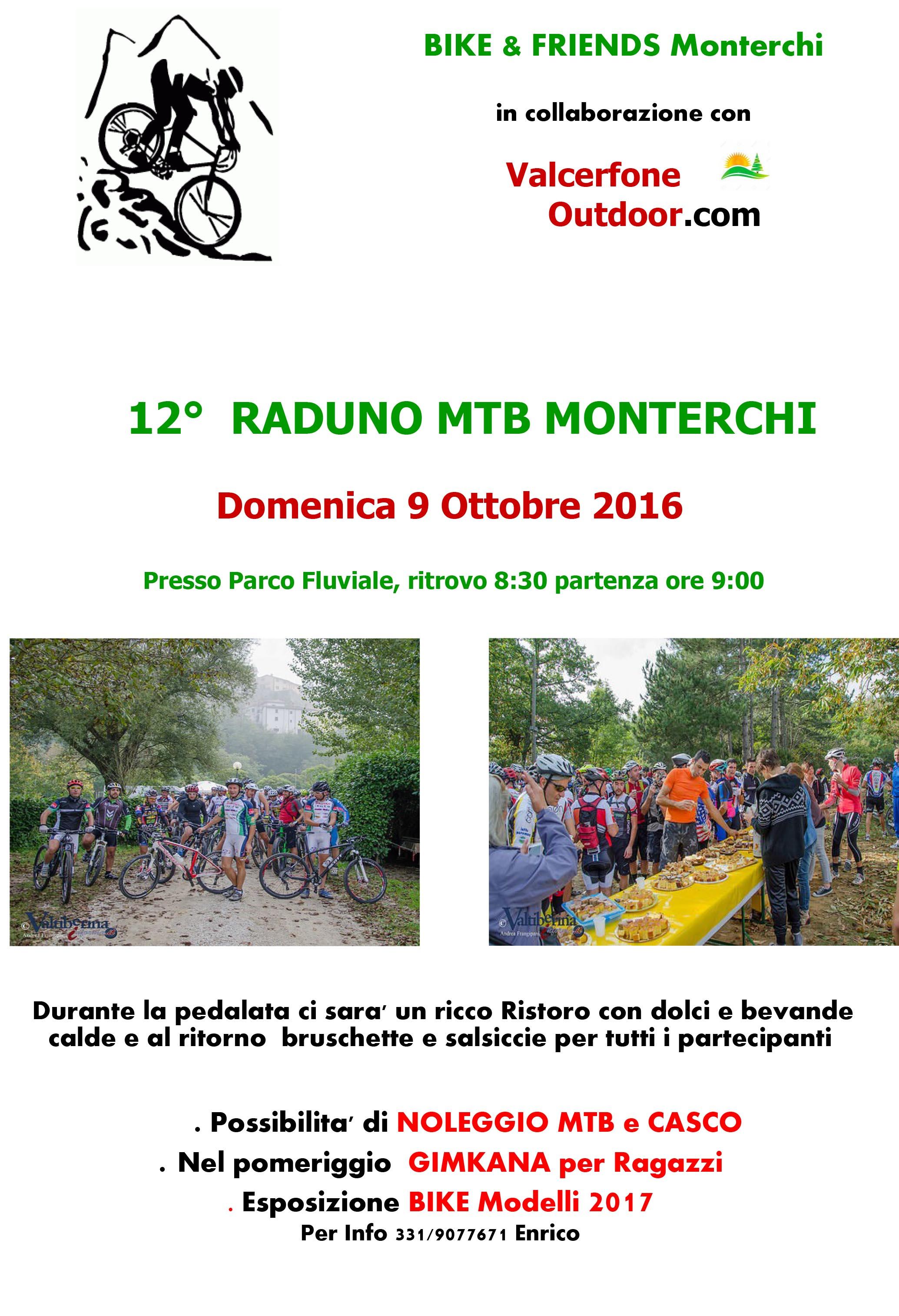 Muontain bike Monterchi