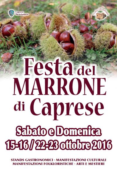 Festa del Marrone di Caprese 2016