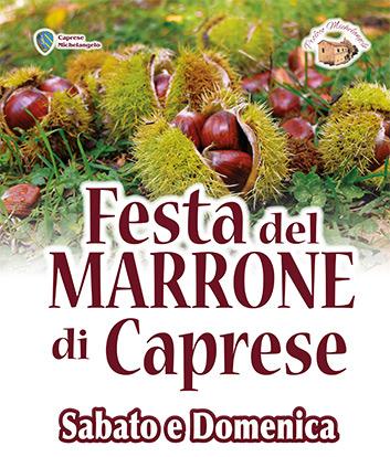 Festa del Marrone di Caprese Michelangelo