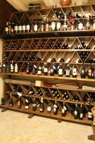 La cantinetta dei vini.