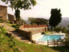 La piscina panoramica.